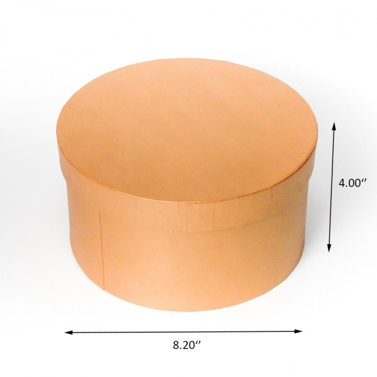 Cardboard flower round  box custom