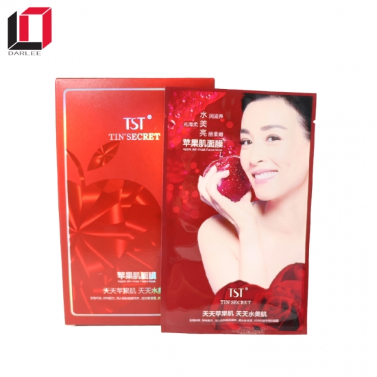 Skin care mask  Cardboard  packaging