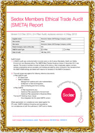 Sedex Members Ethical Trade Audit (smeta) Report2